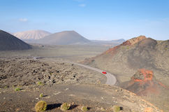 Traveling on Lanzarote island Stock Images
