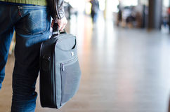 Traveling with laptop Royalty Free Stock Photos