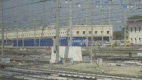 Traveling by modern Italian railways 05.10.2017. Traveling by modern Italian railways stock video