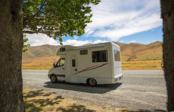 Traveling by motorhome Stock Photos