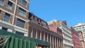Traveling through New York City. Motion video of New York City Manhattan USA stock video footage
