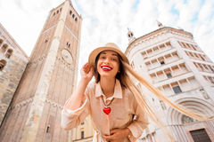 Traveling in Parma town Stock Photography