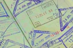 Traveling passport Stock Photo