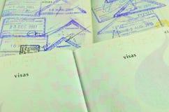 Traveling passport Royalty Free Stock Photography