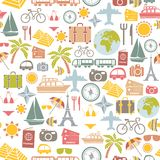 Traveling pattern Stock Photo