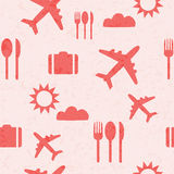 Traveling pattern background Stock Photography