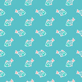 Traveling pattern Royalty Free Stock Photography