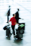 Traveling people with baggage Royalty Free Stock Images