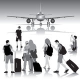 Traveling people Stock Photo