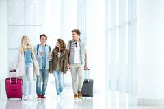 Traveling people Royalty Free Stock Photography