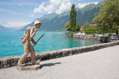 Traveling. This is a photo of Brienz in Switzerland Stock Photography
