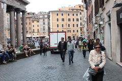Traveling in Rome stock photos
