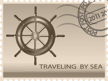 Traveling by sea Royalty Free Stock Photos
