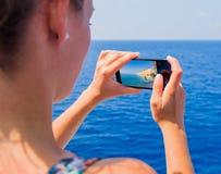 Traveling through seas and oceans Stock Photos