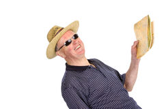 Traveling senior Stock Photo