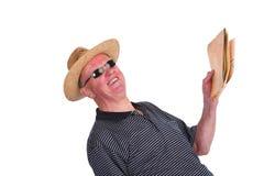 Traveling senior Stock Image