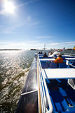 Traveling on ship Stock Photography
