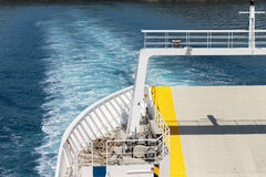 Traveling on ship - ferry Stock Images