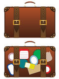 Traveling Suitcase Royalty Free Stock Photos