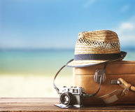 Traveling suitcase royalty free stock images
