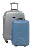 Traveling suitcases Royalty Free Stock Photography