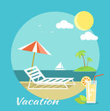 Traveling and Summer Vacation Royalty Free Stock Photography
