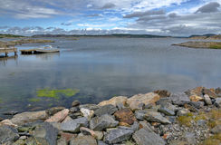 Traveling by Swedish coast Stock Photography