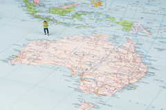 Traveling to Australia Stock Images