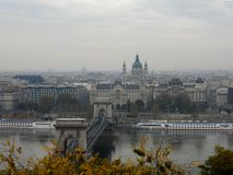 Traveling to Budapest - the historic city of Europe royalty free stock photo
