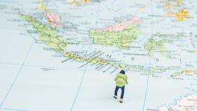 Traveling to Indonesia, Bali Stock Image