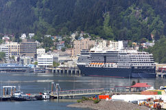 Traveling to Juneau Royalty Free Stock Images