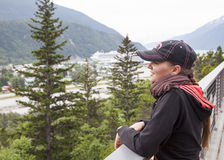 Traveling to Skagway Royalty Free Stock Images