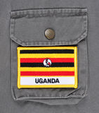 Traveling to Uganda. Royalty Free Stock Photos