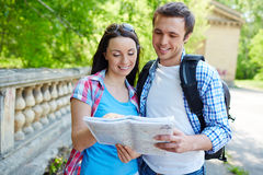 Traveling together Stock Photography