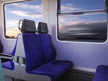 Traveling with train Royalty Free Stock Photos