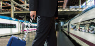 Traveling by train Stock Photography