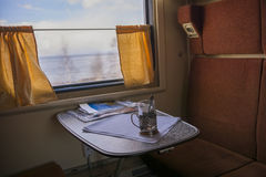 Traveling by train. Royalty Free Stock Photo