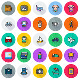 Traveling and transport icon set. Traveling and transport icons for Web and Mobile App. Vector illustration on white background vector illustration
