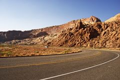 Traveling in Utah Stock Photography