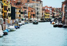 Traveling in Venice, Italy Royalty Free Stock Photo