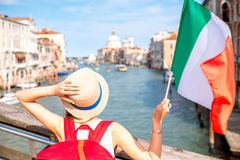 Traveling in Venice Royalty Free Stock Image