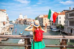 Traveling in Venice Royalty Free Stock Photos