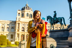 Traveling in Vienna Royalty Free Stock Photo