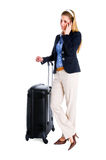 Traveling Woman Royalty Free Stock Photography