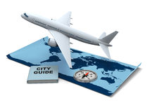 Traveling the world Royalty Free Stock Images