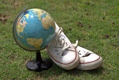 Traveling worldwide Stock Image