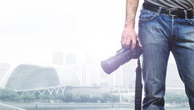 Traveller royalty free stock image