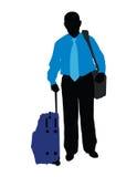 Traveller vector illustration