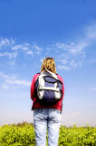 Traveller Stock Photo