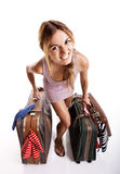 Traveller woman Royalty Free Stock Photography